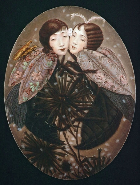 Sister flowers xiaoqing ding