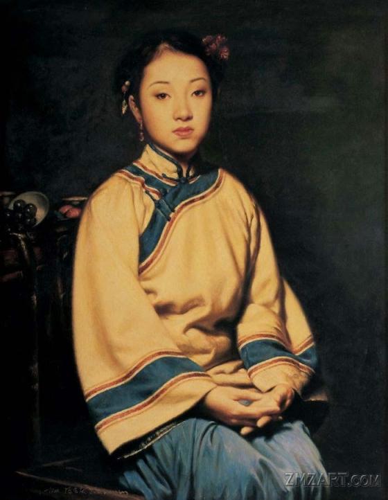 لوحات الفنان Chen Hongqing Chen-hongqing01