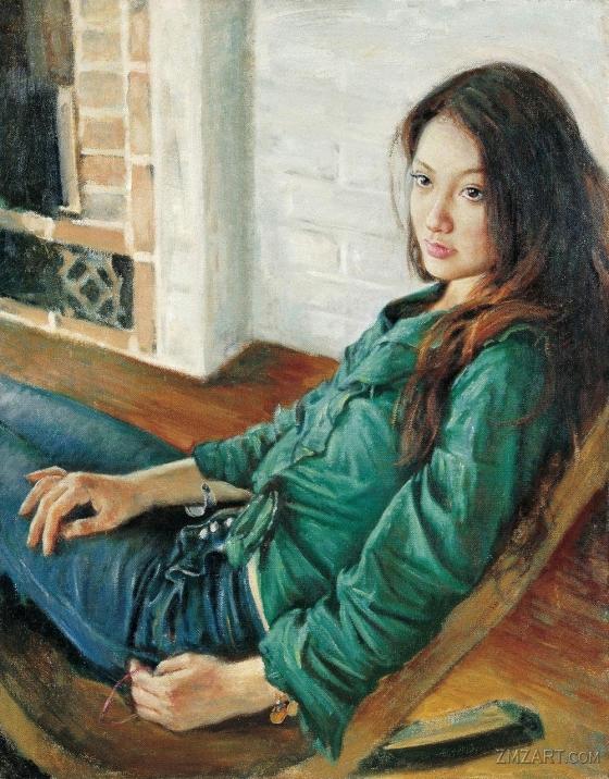 لوحات الفنان Chen Hongqing Chen-hongqing14