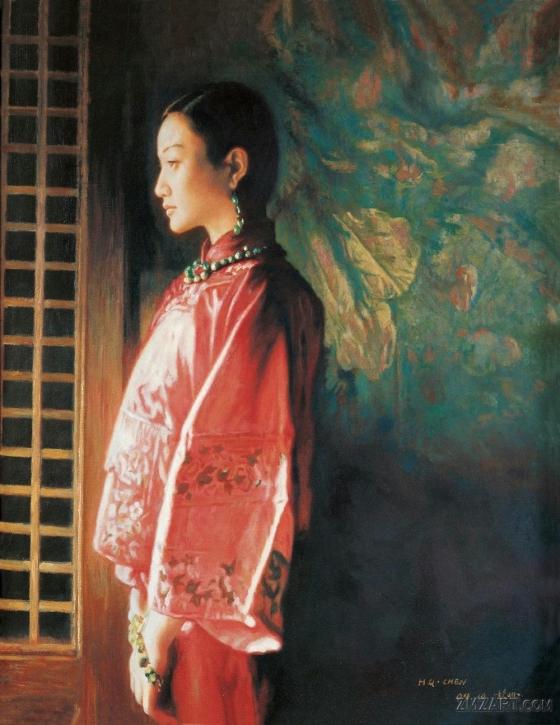 لوحات الفنان Chen Hongqing Chen-hongqing15