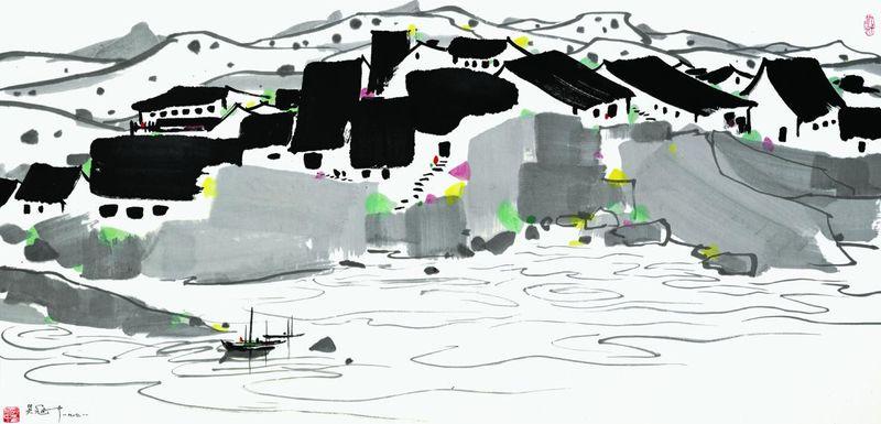 Pintura: Wu Guanzhong