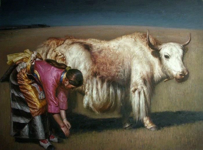 لوحات الفنان زان غيو