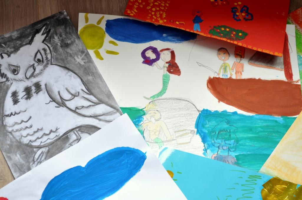 Dibujando con Inés