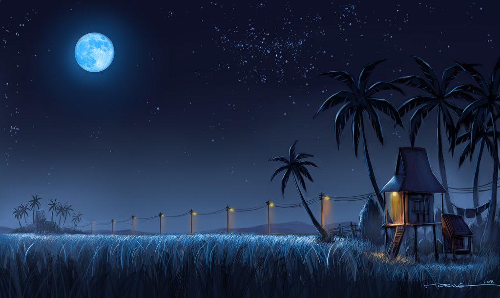 Kampung_Nightscape_by_bramLeech