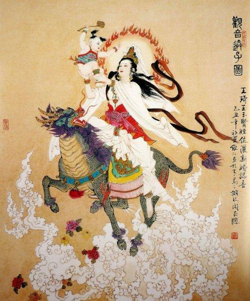 mujeres en la pintura china04