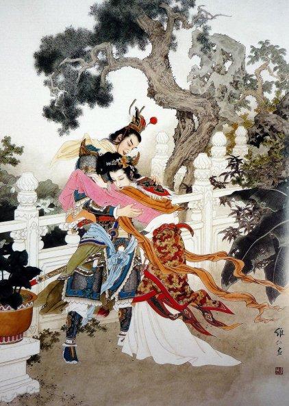 mujeres en la pintura china14