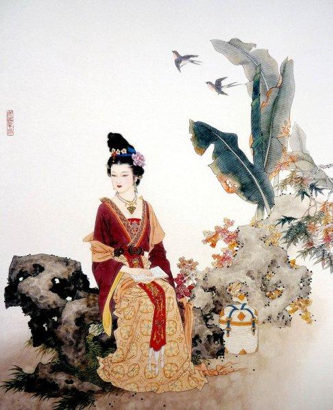 mujeres en la pintura china15
