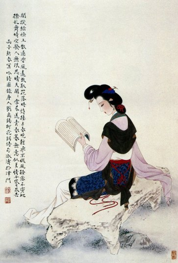 mujeres en la pintura china16