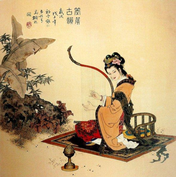 mujeres en la pintura china20