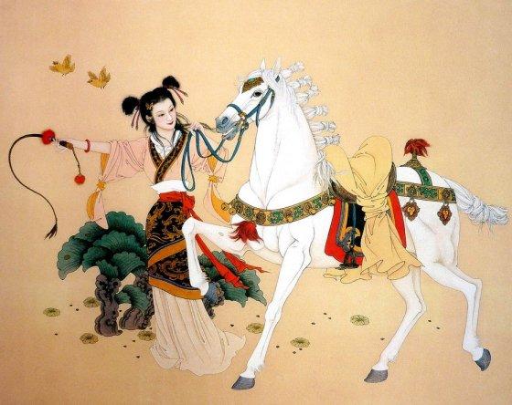 mujeres en la pintura china21