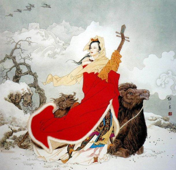 mujeres en la pintura china22