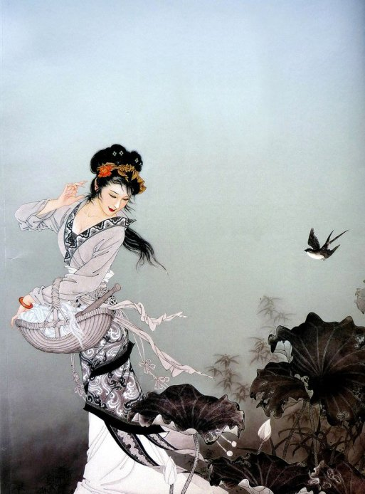 mujeres en la pintura china24