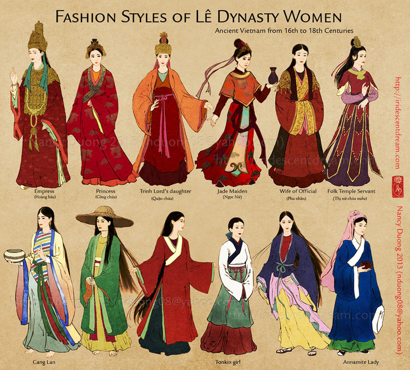 fashion_styles_of_le_dynasty_women_by_lilsuika-d6fc8qt