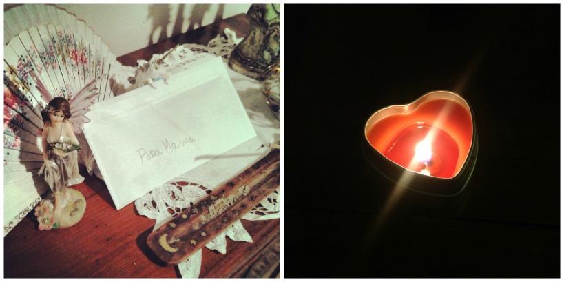 Cuando llegué a casa, Flor de Canela había dejado para mi un sobre con un regalo. Y traté de mirarme con sus ojos.