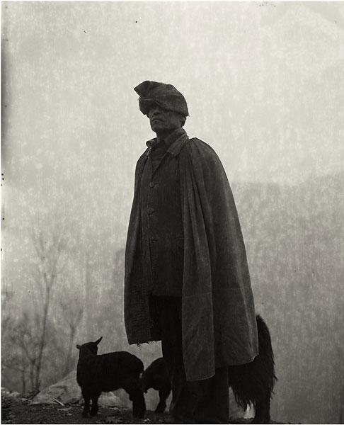 hombre y la oveja
