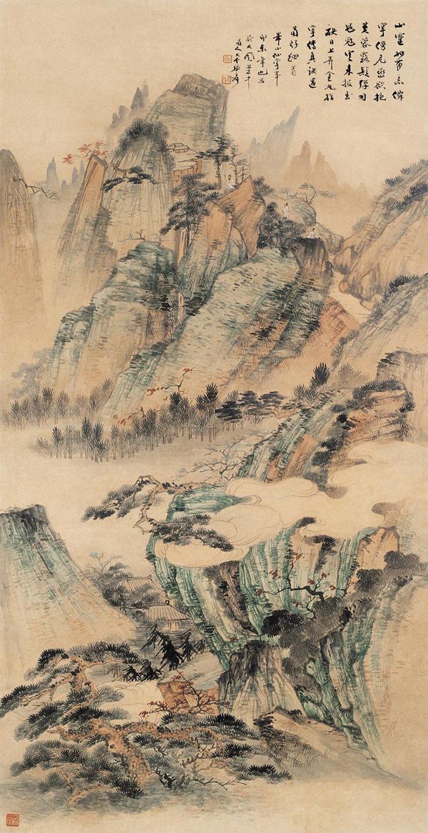 Zhang Da-qian (張大千) paisajes01