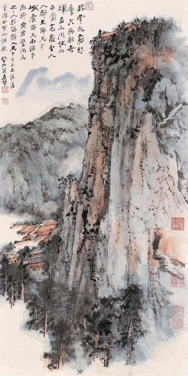 Zhang Da-qian (張大千) paisajes02