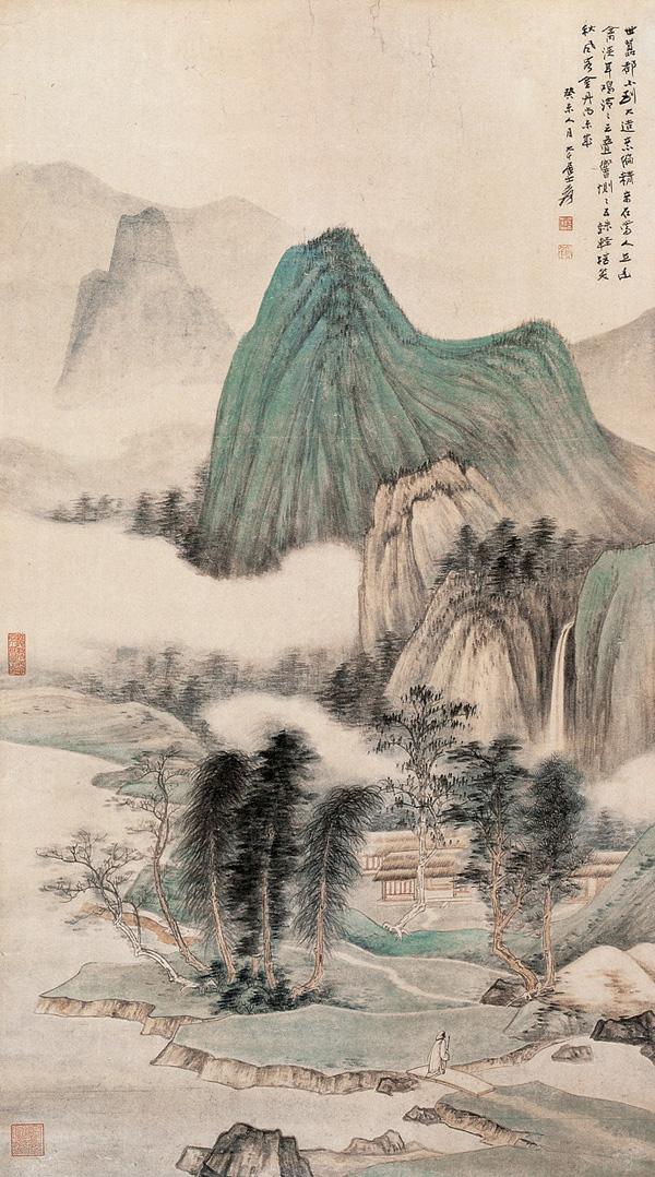 Zhang Da-qian (張大千) paisajes06