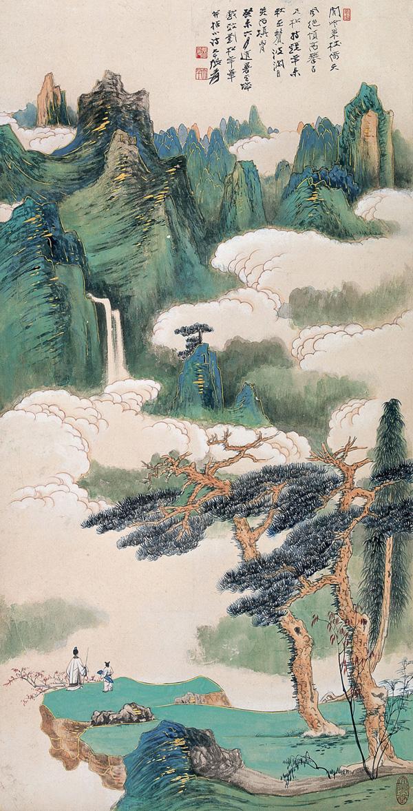 Zhang Da-qian (張大千) paisajes07