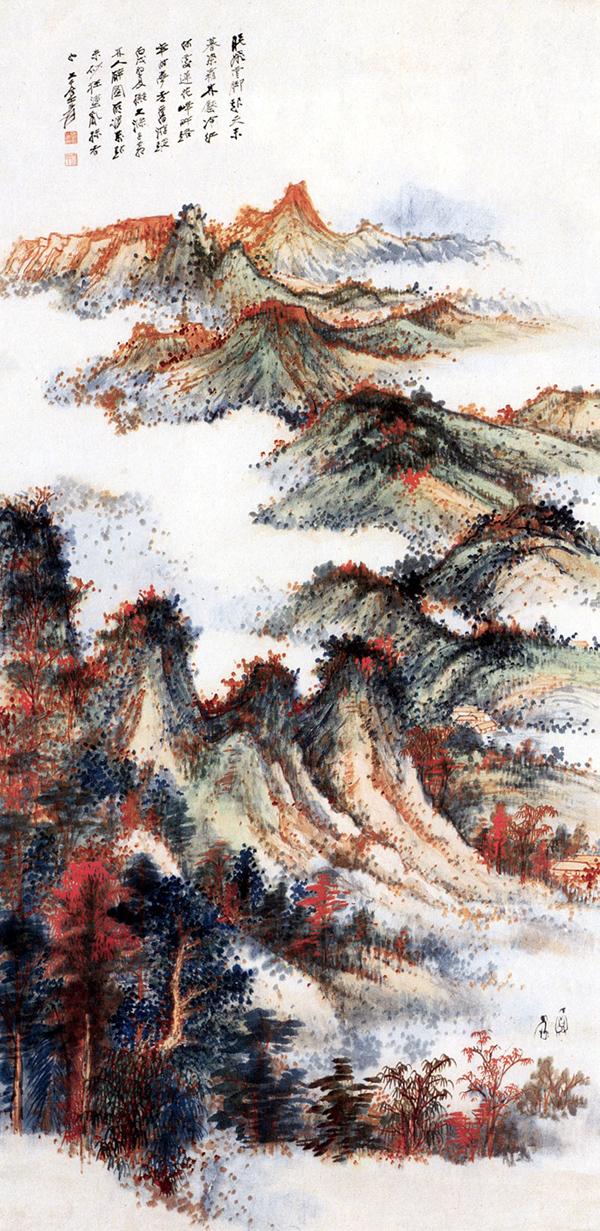 Zhang Da-qian (張大千) paisajes11