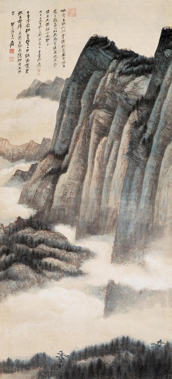 Zhang Da-qian (張大千) paisajes12