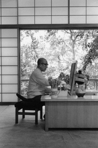 kaii higashiyama maalaamassa