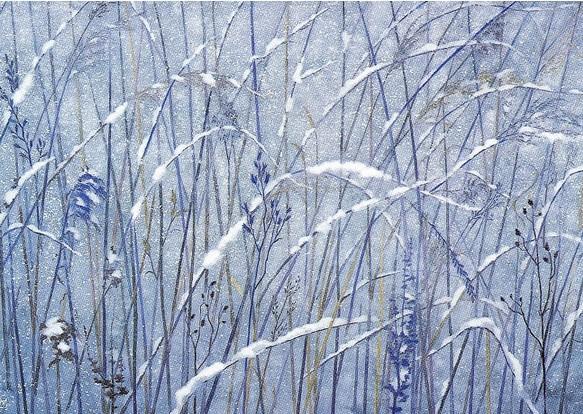 Kaii Higashiyama - Snowy Field 1992