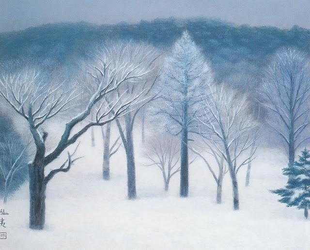 Kaii Higashiyama - Snowy light ,1952