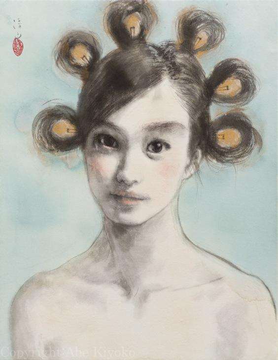 阿部清子(Abe Kiyoko)-www.kaifineart.com-1