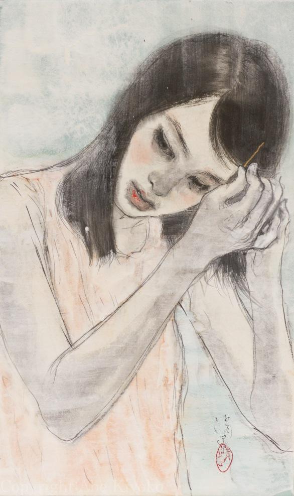 阿部清子(Abe Kiyoko)-www.kaifineart.com-4